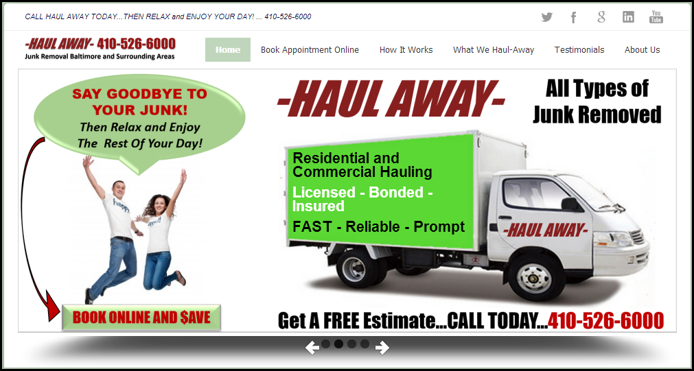HAUL AWAY Junk Removal - NextGEN Internet Marketing Solutions